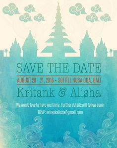 Bali Save the Date Save The Date, Rsvp, Bali, Dating, Studio, Wedding, Valentines Day Weddings, Quotes, Studios