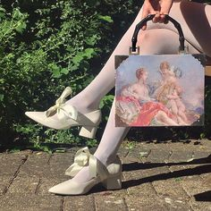 I feel like my new bag and shoes are a couple Source by hannahullexigue aesthetic Sofia Coppola, Marie Antoinette, Textiles Y Moda, Oki Doki, Pantyhosed Legs, Look At My, Vogue, Lolita, Kirsten Dunst