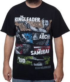 Show your love for the end of the world and those who struggle to survive in it with the Ringleader Archer Samurai Kid Walking Dead T-Shirt. Everyone has their favorite TWD character and there& a chance this shirt doesn& Walking Dead Clothes, Walking Dead T Shirts, The Walking Dead Merchandise, Walking Dead Tv Show, Walking Dead Zombies, Walking Dead Season, Fear The Walking Dead, Best Shows Ever, Samurai