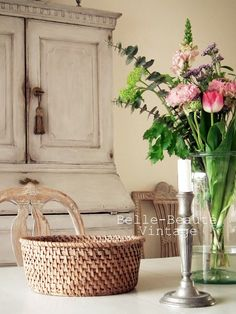 French Country House, Country Chic, Country Houses, Country Living, Vintage Furniture, Painted Furniture, Furniture Refinishing, Furniture Ideas, Swedish Style