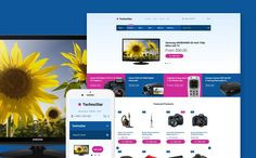 14+ SHOCKING! Electronics Store Shopify Themes! No. 3 WILL Make Your EYES EXPLODE! - TechnoStar