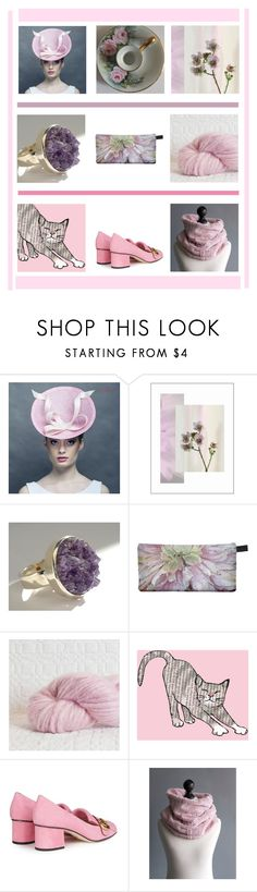 """""""PINK"""" by xena-style ❤ liked on Polyvore featuring Gucci"""