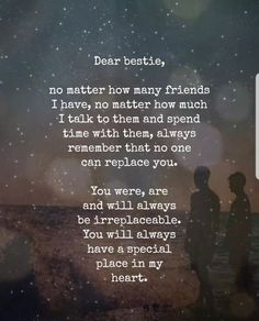 10 Beautiful Quotes For The Special Friends In Your Life happy friend quotes friendship quotes happy quotes day quotes birthday quotes wife quotes quotes quotes sayings Best Friend Quotes Meaningful, Best Friend Poems, Dear Best Friend, Birthday Quotes For Best Friend, Sister Friend Quotes, Quotes For Best Friends, Missing Best Friend Quotes, Poems About Best Friends, Loving Your Best Friend