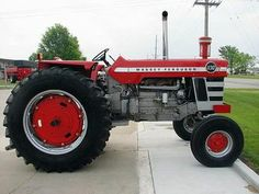 1000 Images About Massey Ferguson Tractors On Pinterest