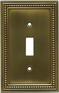 Arts n crafts soft iron switch plates image outlet covers for Arts and crafts outlet covers