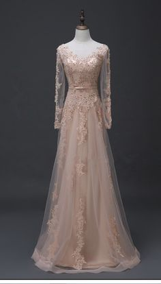 Charming Prom Dress, Elegant Prom Dresses, Long Sleeve #prom #promdress #dress #eveningdress #evening #fashion #love #shopping #art #dress #women #mermaid #SEXY #SexyGirl #PromDresses