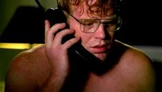 Phillip Seymour Hoffman in Happiness (an odd or uncomfortable movie. Definitely not for most. Despite its creepiness, its a good movie.)