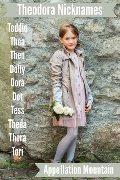 Love long girl names with lots of nickname options? Classic baby name Theodora has more short forms than you might guess.