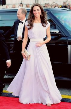 Evening Dress on Kate