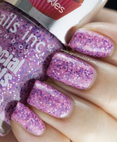 Special effect cupcake sprinkle nail polish by nail inc.
