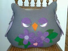 gufo cuscino#cucito creativo#creative sewing#owl#pillow