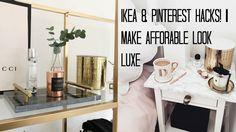 IKEA HACKS & PINTEREST DIY'S | MAKE AFFORDABLE LOOK LUXE. Além de talentosa adorei o colar dela