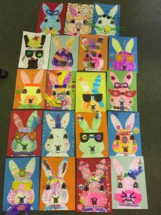 Aadele Mmcgrath - Rabbit Art -  Scottish Primary Teachers FB group Rabbit Art, Art Lessons, Group, Projects, Bunny Art, Color Art Lessons, Log Projects, Blue Prints, Art Education