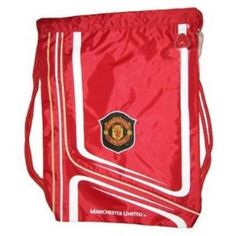 Manchester United Official, Drawstring Backpack, Diaper Bag, Soccer, The Unit, Amazon, Pretty, Fashion, Moda