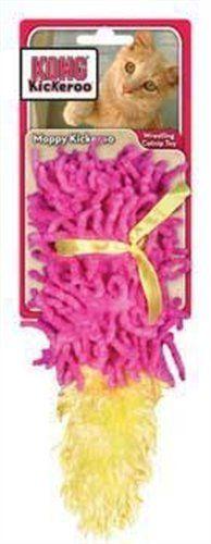 KONG Cat Moppy Kickeroo Catnip Toy (Colors Vary) « Pet Lovers Ads