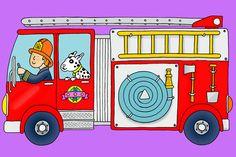 Stephen Lewis - Fire truck