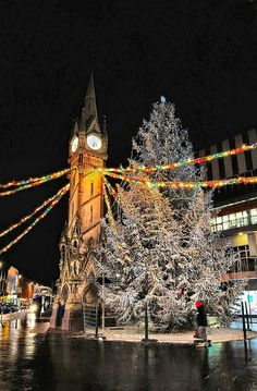 A London Christmas Christmas In England, Christmas In The City, London Christmas, Europe Christmas, Christmas Markets, Holidays Around The World, Around The Worlds, Brighton, Leicester England