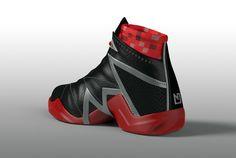 Nate Robinson basketball shoe design by Tomislav Zvonarić, via Behance