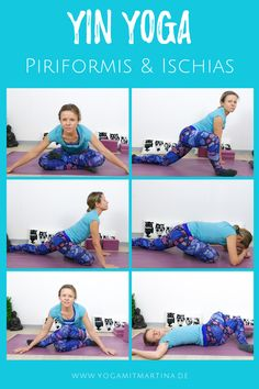 Yin Yoga for Piriformis or Sciatica Syndrome: Relief for pain in the back, buttocks and back of the thighs. Yin Yoga for Piriformis or Sciatica Syndrome: Relief for pain in the back, buttocks and back of the thighs. Yoga Yin, Hormon Yoga, Yoga Flow, Fitness Workouts, Yoga Fitness, Fitness Motivation, Iyengar Yoga, Ashtanga Yoga, Vinyasa Yoga