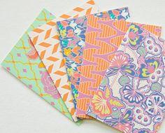 vine covered cottage - set of 4 cards. $12.00, via Etsy.