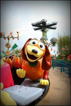 Slinky Dog | Toy Story Playland | Walt Disney Studios Park | Paris