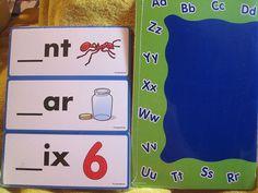 Lakeshore Spelling Tile Cards & Mat Initial Letter Phonics PreK+ #Lakeshore