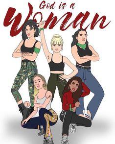 NOS PARECE DEMASIADO FANTASIOSO COMO PARA NO SUBIRLO 🤟🏼 G O D I S A F U C K I N G W O M A N 💚💜 (Y NO... #yooying Power Girl, Picsart, Ariana Grande, My Girl, Cool Stuff, My Love, Celebrities, Wallpapers, Cute