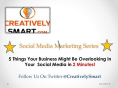 FlipSnack | Creatively Smart-5 Things You Might Be Overlooking in 2 Minutes