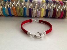 Infinity bracelet Never Ending Love bracelet by QberryCreations
