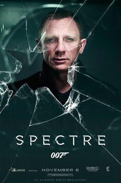Daniel Craig is fit Film V, Film Serie, Daniel Craig James Bond, James Bond Movie Posters, James Bond Movies, Sarah Shahi, Spectre 2015, 007 Spectre, Poster
