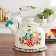 Pioneer Woman Tea Kettle, Pioneer Woman Dishes, Pioneer Woman Kitchen, Pioneer Women, The Pioneer Woman, Semarang, Lush, Diy Kit, Smitten Kitchen
