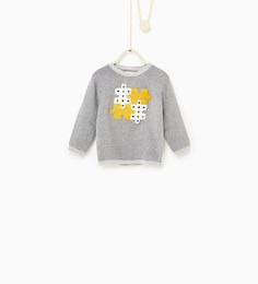 Puzzle sweater-TRENDING PICKS-BABY BOY | 3 months-3 years-KIDS | ZARA United States