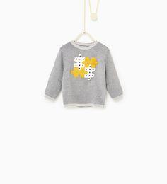Puzzle sweater-TRENDING PICKS-BABY BOY | 3 months-3 years-KIDS | ZARA United States