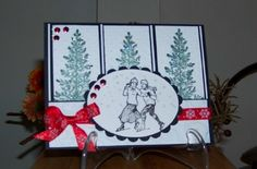 Winter Skaters by Zigzag - Cards and Paper Crafts at Splitcoaststampers