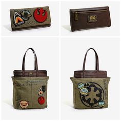 Loungefly Unveils A Rugged 'Star Wars Rogue One' Patch Tote And Wallet