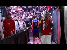 Jose Calderon accidentally heads towards the Raptors' locker room at halftime of the Raptors-Pistons game. Toronto Raptors, April 1st, April Fools, Locker, Nba, All About Time, Basketball, My Favorite Things, Game