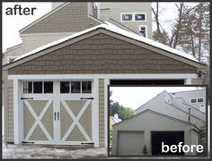 gable front house with hardiplank - Google Search