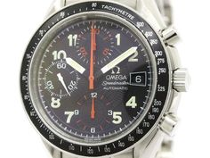 Polished #OMEGA Speedmaster Mark 40 Steel Automatic Mens Watch 3513.53 (BF107592): #eLADY global accepts returns within 14 days, no matter what the reason! For more pre-owned luxury brand items, visit http://global.elady.com