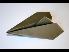 Origami - Aéroplane traditionnel #origami