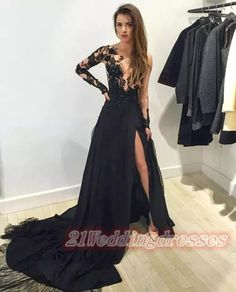 Hot Sales Long Lace Prom Dresses,Front Split Evening Dresses,Real Sexy Deep V-neck Prom Dress http://21weddingdresses.storenvy.com/products/16018134-hot-sales-long-lace-prom-dresses-front-split-evening-dresses-real-sexy-deep