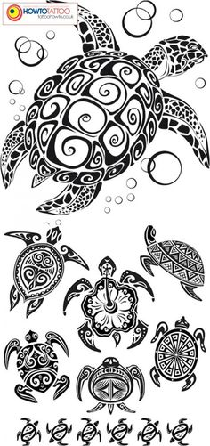 Turtle tat ideas :]