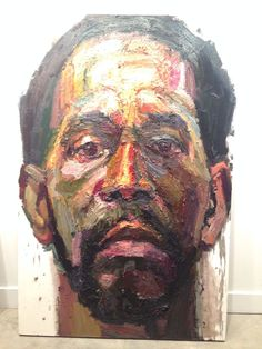 Sedrick Huckaby self portrait | Our Fellow Artists | Pinterest ...