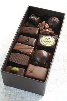 Chocolates from Henri Le Roux, Paris France