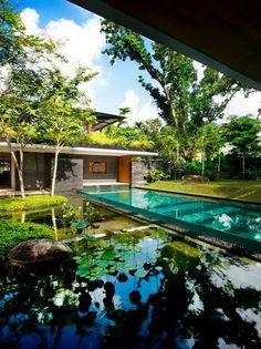 Cluny House / Nhà ở Singapore – Guz Architects | KIẾN TRÚC NHÀ NGÓI