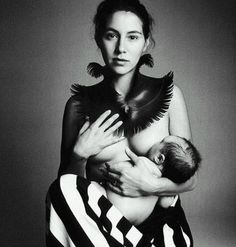 Veronique Pittman with daughter Lucy by Patrick Demarchelier / STORQ