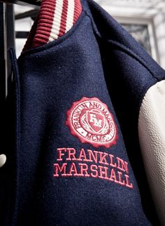 Franklin Marshall as the new college fashion. Combines classy style of Prep with varsity jackets.