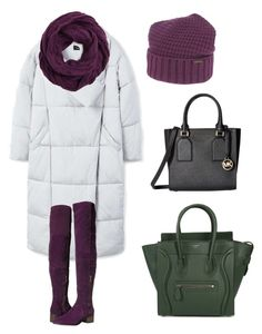 """""""winter"""" by ksuroy on Polyvore featuring MANGO, Free People, Bark, CC, MICHAEL Michael Kors and CÉLINE"""