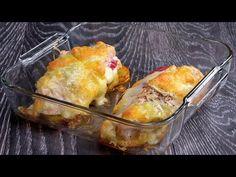 TELJESEN megtöltöttem a csirkemellet és sütőbe tettem| Ízletes TV - YouTube Filets, Four, Relleno, Macaroni And Cheese, Breast, Cooking Recipes, Chicken, Ethnic Recipes, Youtube
