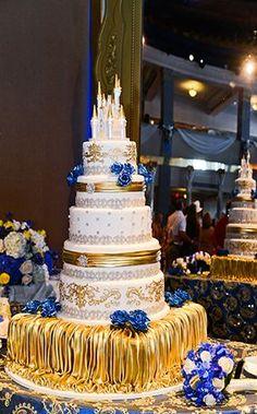 Wedding Cake Wednesday: Stunning Beast's Castle Wedding Cake!  ~~ Ever After Blog | Disney Fairy Tale Weddings and Honeymoon