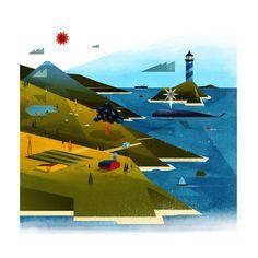 Sur : Concept Art by Dan Matutina   Agent Pekka